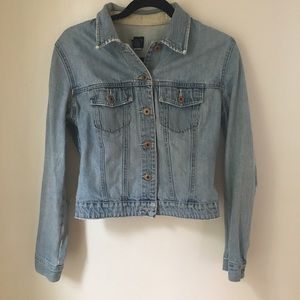 Vintage Gap distressed jean jackets